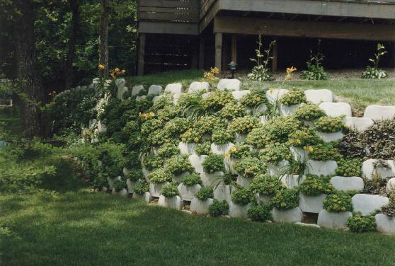Plantable Retaining Walls
